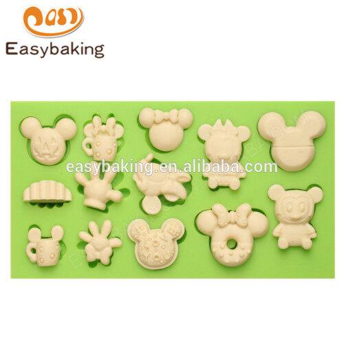 Wholesale custom-made new design multi-styles cartoon silicone molds