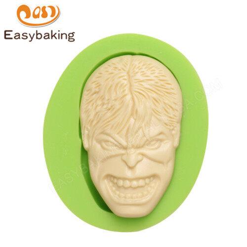 The Hulk Mask Fondant Silicone Cake Decoration Mould