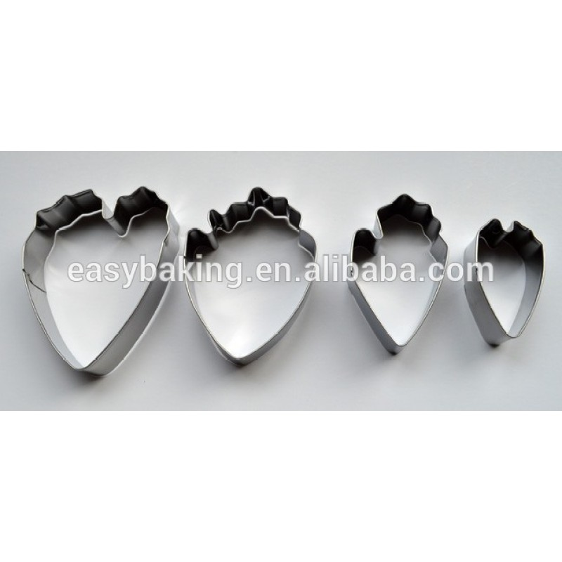 Hot Sale Flower Cake Tools Stainless Steel Peony Petal Cutter For Fondant Cake Decorating