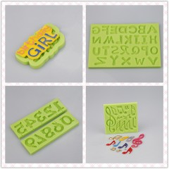 Hot Selling Poker Design Party Cake Decorating Silicone Molds For Chocolate And Soap