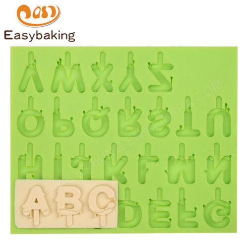 Silicone Alphabet Fondant Cake Mold Cake Decorating Mould