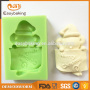 NEW Cutely Santa Claus Christmas Fabulous Merry Xmas Silicone Mould