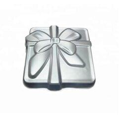 New DIY Aluminum Bakeware Tools Wedding Birthday Bow Gift Cake Pan