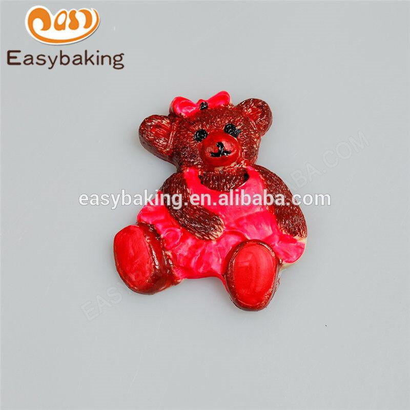 Hot Selling New design Handmade Custom Teddy Bears Animal Silicone Molds