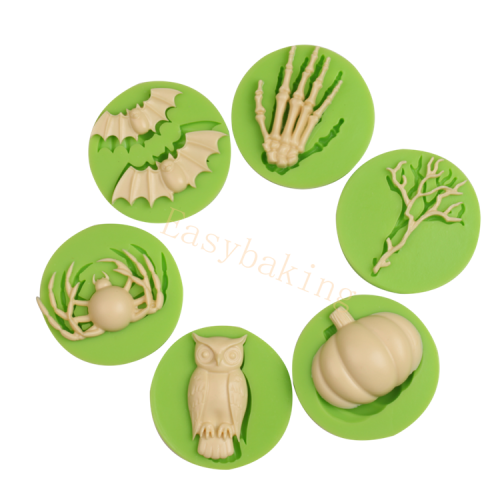 Hot Selling Festival Promotion Halloween Theme Silicone Mold