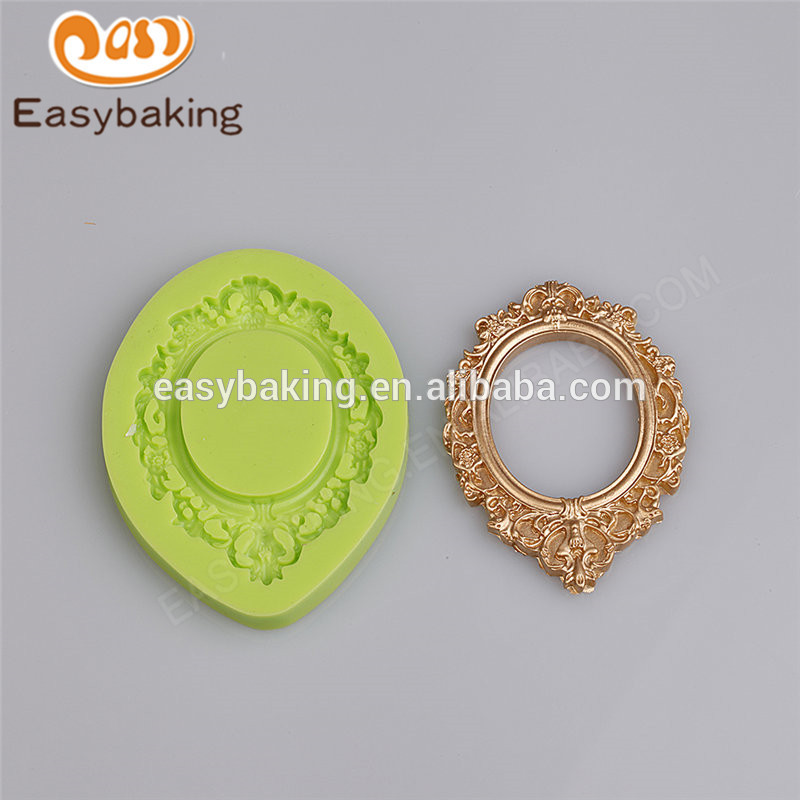 Cheap hot sale high quality wholesale 88*67*9 cake decorating silicone molds