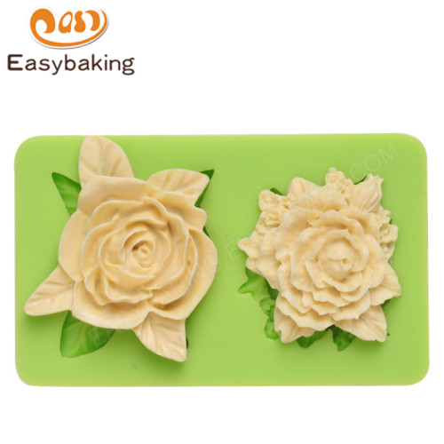 Flowers Fondant Mould Silicone Molds for Cake Decorating