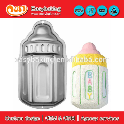 Kids Birthday Party 3D Aluminium Cake Baby Bottle Pan