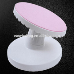 Eco-friendly Plastic Cake Turntable Muffin Pastry Rotating Dessert Tools