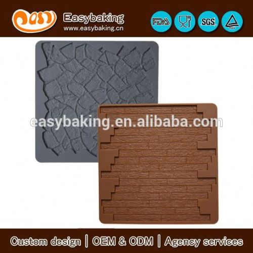 The hottest seller stone and wood non stick silicone baking mat