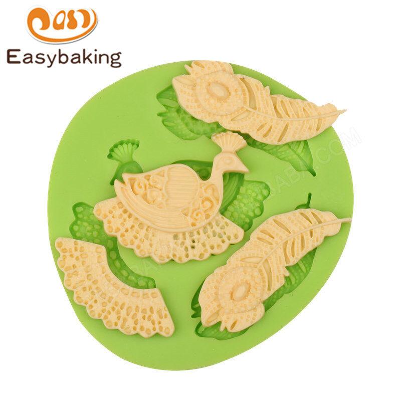 3D jewel Cake decoration silicone  mold