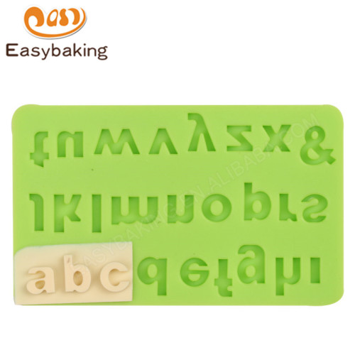 Alphabet Lowercase Letters Fondant Cake Mould