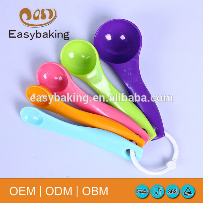 Best price hot sale promotion plastic camping spoon set