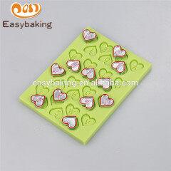 Wholesale new design popular alphabet silicone chocolates mould