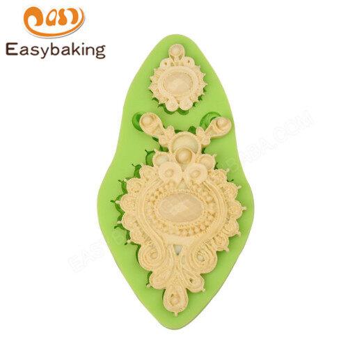 Jewel Fondant Silicone Cake Decoration Mould
