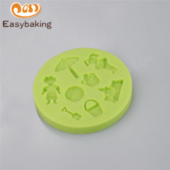 Summer theme beach holiday silicone mold