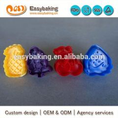 Factory Custom Plastic Fruit Shape 3D Cookie Cutters