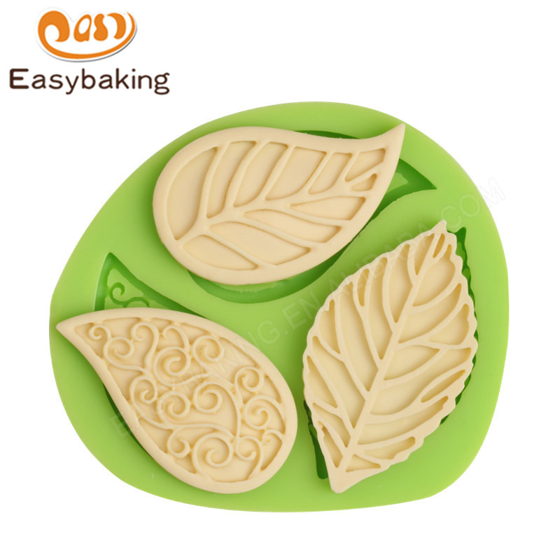 2019 3D flower Silicone Cake Mould Cake decoration mould