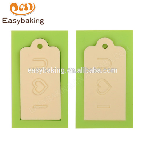 China Manufacturer Customized Newest Arrival LOVE U Silicone Molds