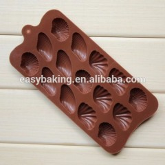 Hot Selling 2017 Amazon Seashell Chocolate Molding Silicone