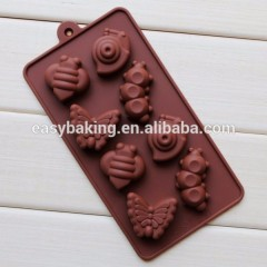 Hot Selling Custom Made Silicone Chocolate Mold In China