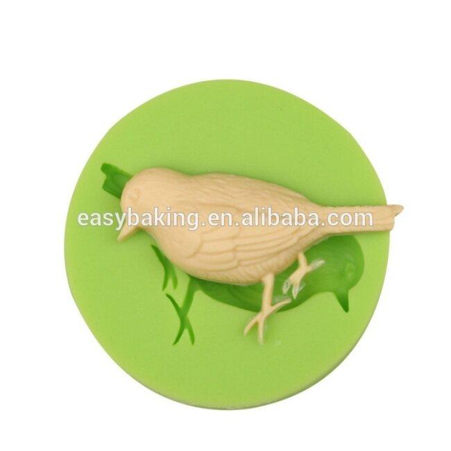 OEM bird design custom handmade silicone soap molds