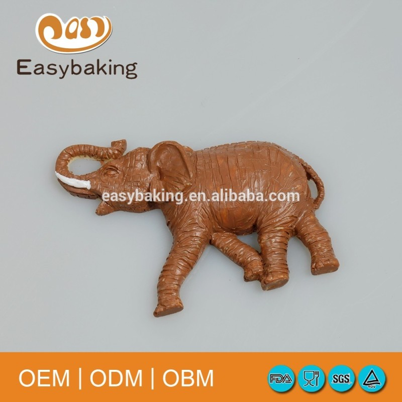 Handmade Craft Gifts African Elephant Clay Silicone Soap Mold
