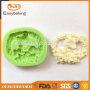 Hot sale christmas design sheep shaped handmade soap 3d silicone molds