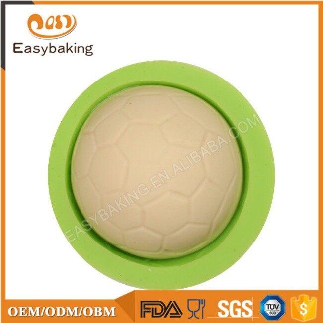 Handmade Round Silicone Mold Football Shape Soap