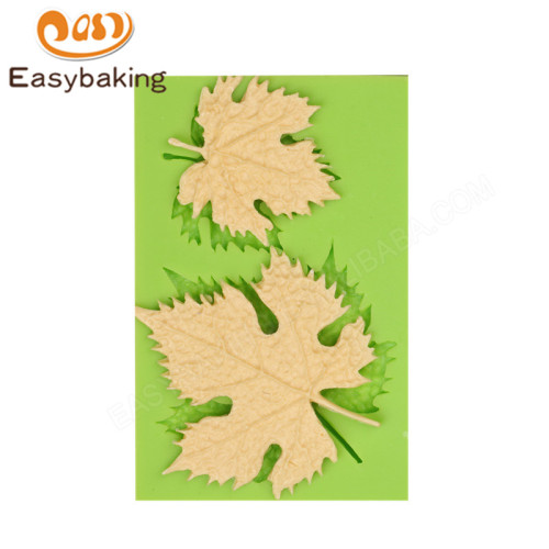 3D Maple leaves Shape Cake Silicone Mold