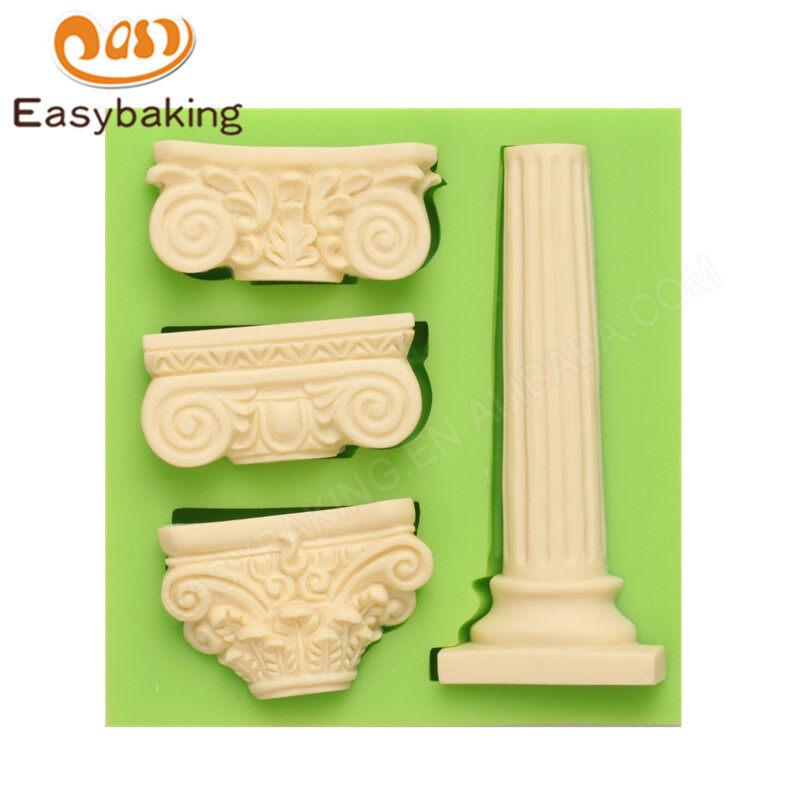 Building use fondant decoration silicone  mould