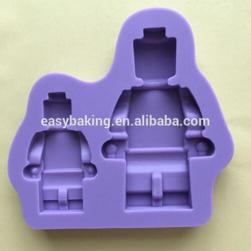 Lego Robot Silicone Molds