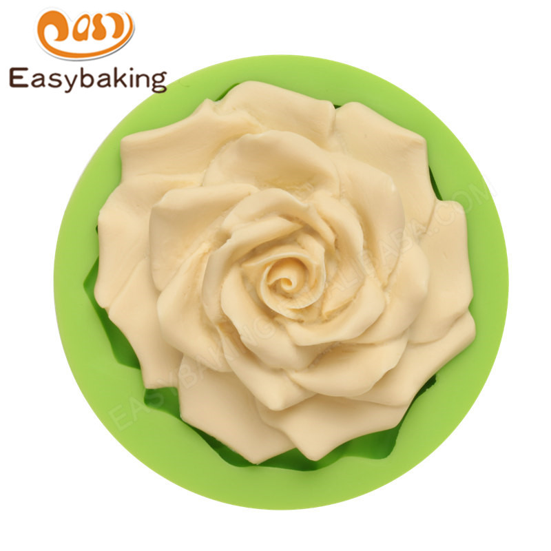FDA Food Grade Customized flower fondant Silicone  Mold