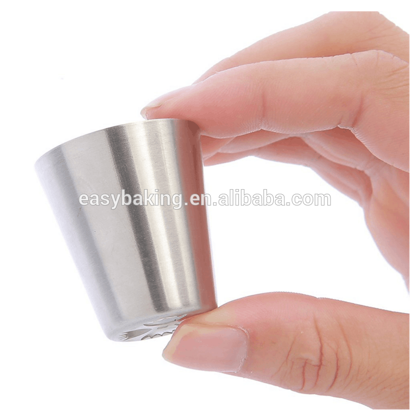 304 Stainless Steel Cupcake Decorating Icing Piping Tips Russian Nozzles