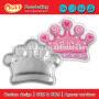 King Queen Princess Crown Cake Tin Baking Aluminium Pan