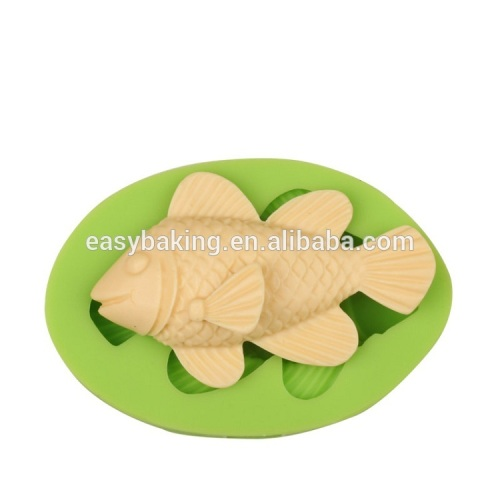 Best price ocean series fish silicone soap molds