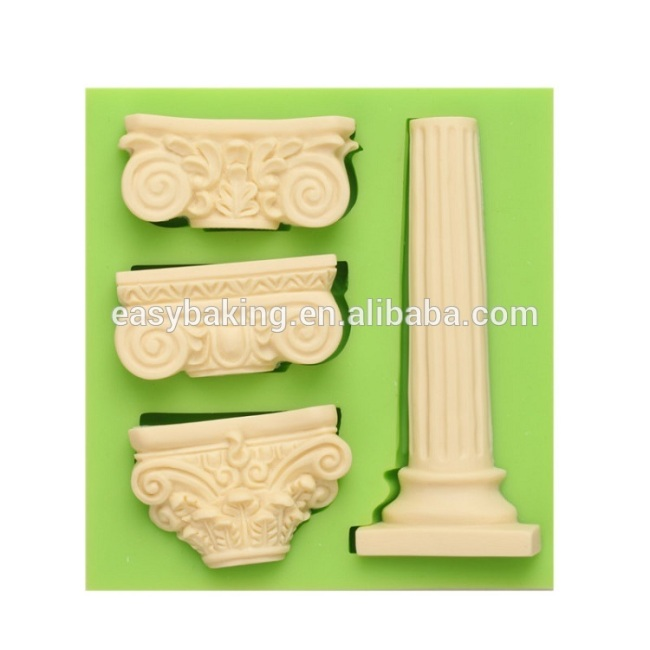 Handmade creative craft home decoration series silicone soap molds