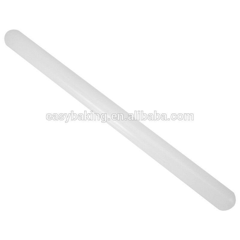 Non-stick Plastic Cake Fondant Pastry Rolling Pin Dough Stick Bakeware Decorating Tool