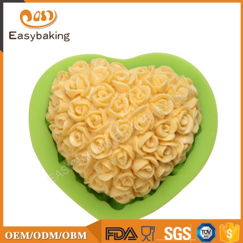 Hot Products To Sell Online Loving Heart Soap Molds Silicone