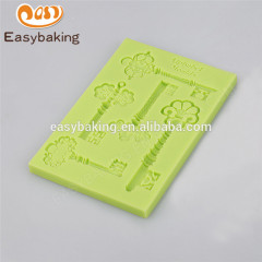 Wholesale 100% food grade new design customized silicone chocolate mold