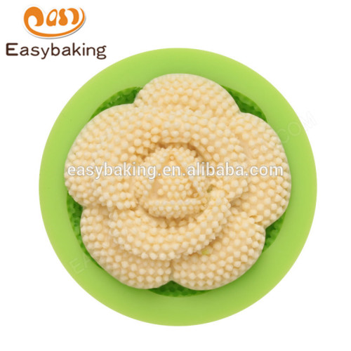 Factory supply popular heat-resistant 55*15mm novelty silicone cake molds