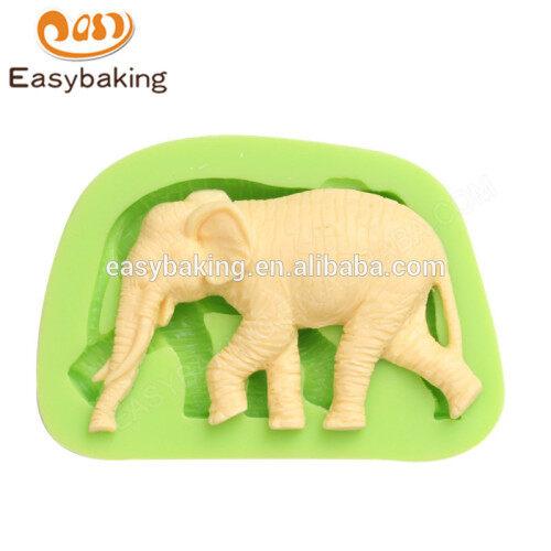 China high quality wholesale elephant silicone molds for cake decorating