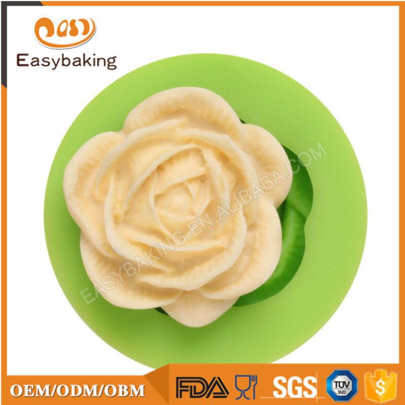 Flower series Fondant Cake Decoration Camellia Silicone Mold