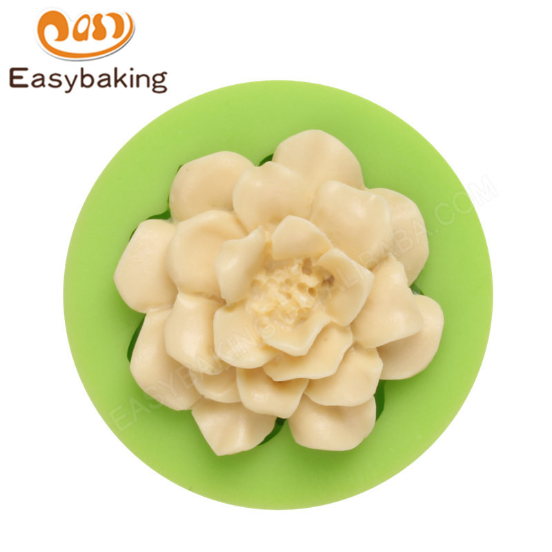 3D flower Cake Decorating Tools Baking silicone Mold
