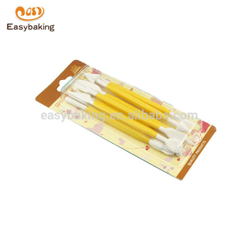 Hot sales Portable Food grade different shaped fondant cake decorating tools