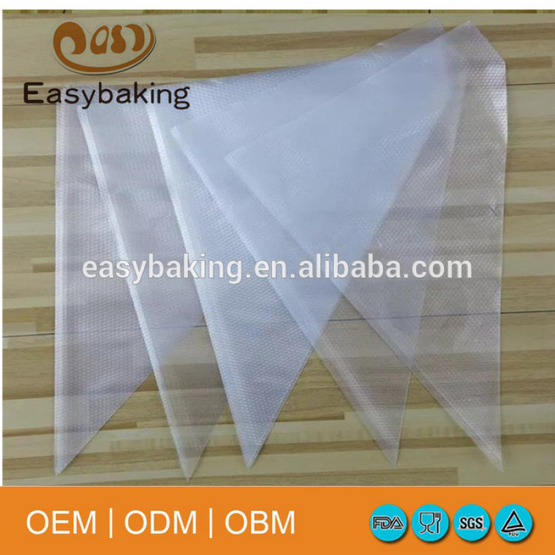 Eco-friendly cake decorating tools disposable pastry bag