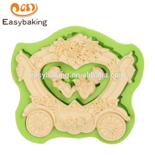 Customized food grade 127*107*16 high quality products china silicone molds