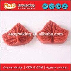 Fondant cake decorating tools leaf flower sugarcraft veiner silicone mould