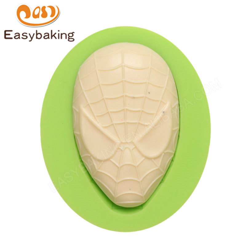 Superman  silicone fondant molds for cake decorating supplies