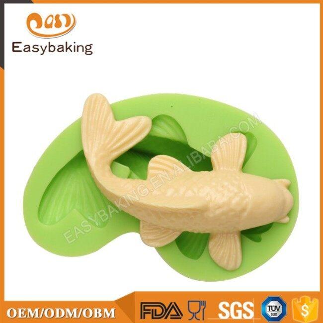 Wholesale China Goods Koi Fish Fondant Silicone Molds